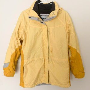 Columbia Yellow 2 in 1 Jacket